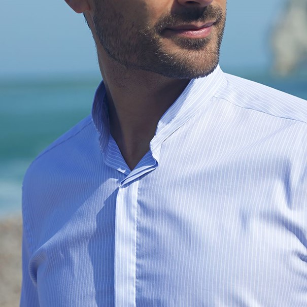 The Mao collar shirt: the essential comfortable and elegant shirt