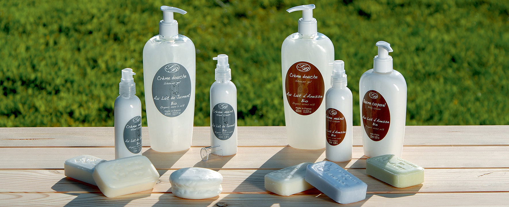 Organic cosmetics made in France with zero waste